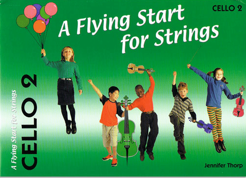 Flying start for strings Cello Book 2