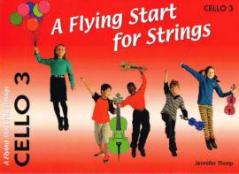 Flying start for strings Cello book 3