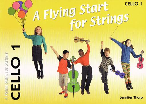Flying start for strings Cello book 1