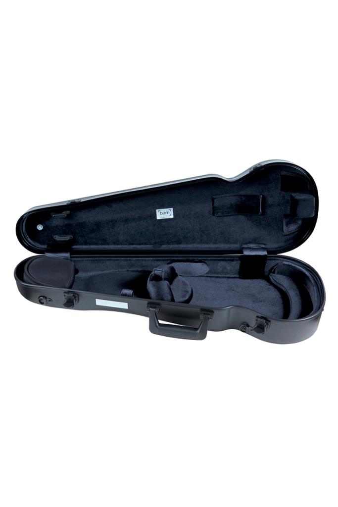bam l 39 opera hightech contoured violin case black caswells strings. Black Bedroom Furniture Sets. Home Design Ideas