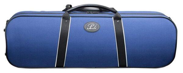 Pedi Night Stripe Violin case blue