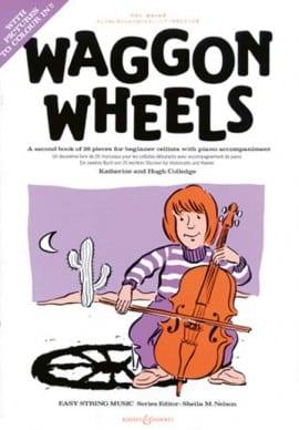 Waggon Wheels for Cello