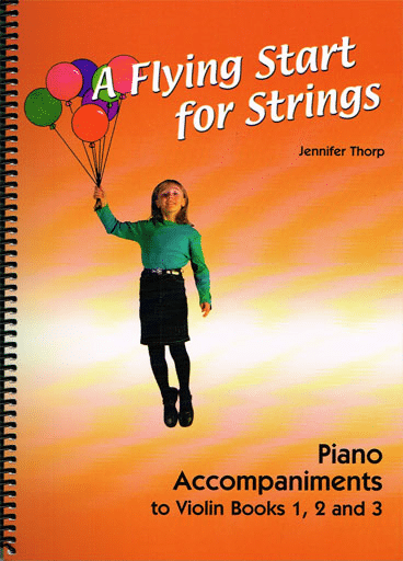 Flying start for strings Violin Piano Accompaniment book