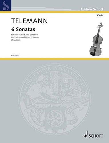 Telemann 6 Sonatas