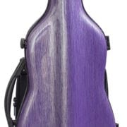 Hidersine Polycarbonate Gourd Violin Case purple front