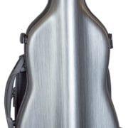Hidersine Polycarbonate Gourd Violin Case silver front