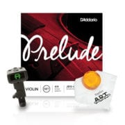 Prelude strings and accessories