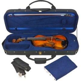 Tom & Will Classic Viola Case black open