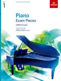 ABRSM Piano Exam Pieces Grade 1 2019-2020
